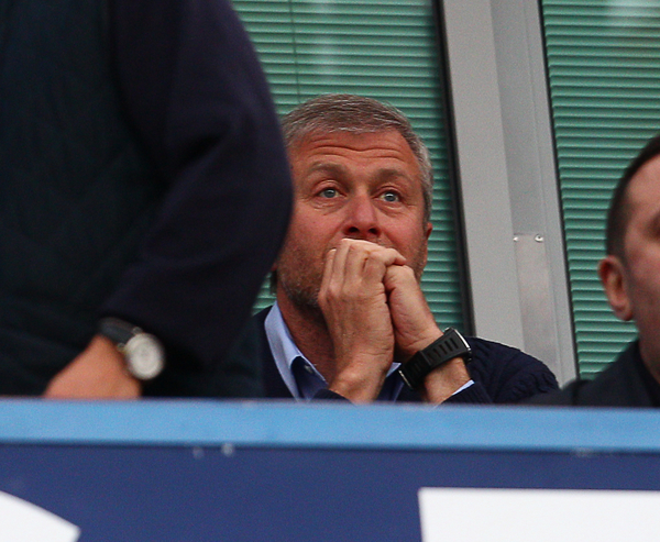 Roman Abramovich, Owner of Chelsea during the UEFA Champions League match at Stamford Bridge, London Picture by Paul Terry/Focus Images Ltd +44 7545 642257 30/04/2014