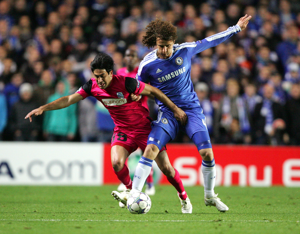 Chelsea v KRC Genk.UEFA Champions League Group E Barda