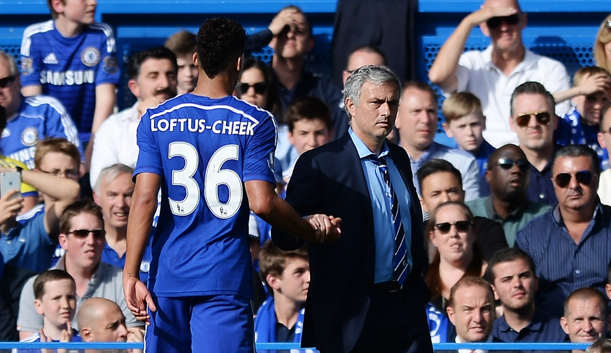 Loftus-Cheek Mourinho Chelsea Focus