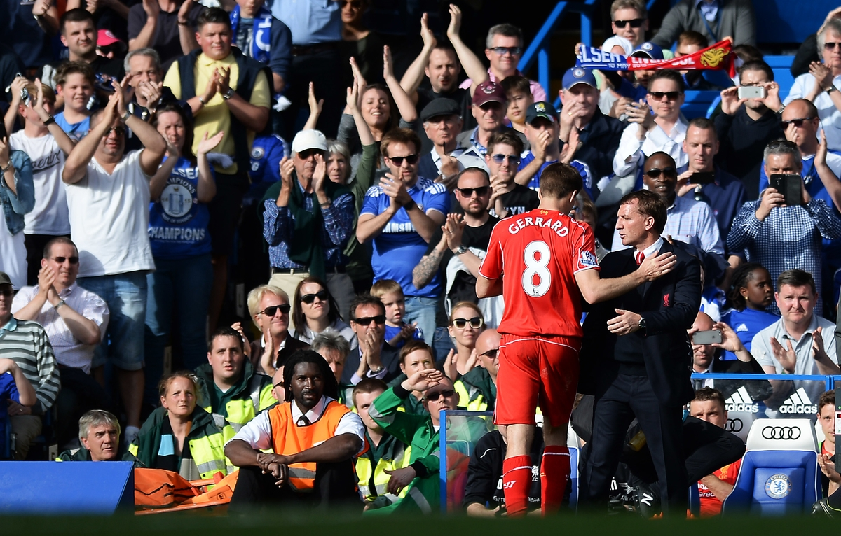 Gerrard Liverpool Focus Rodgers