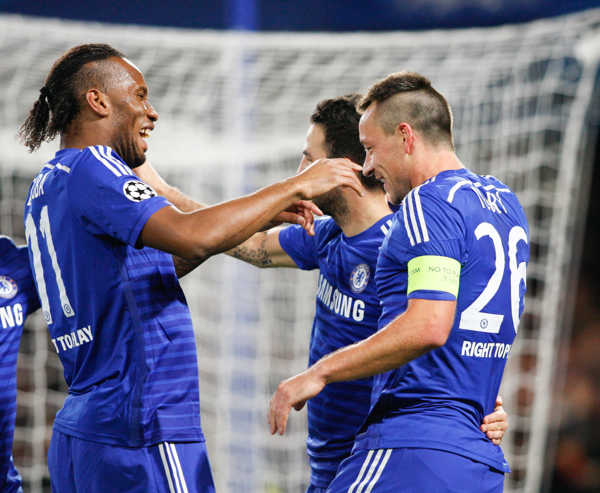 Chelsea Terry Drogba