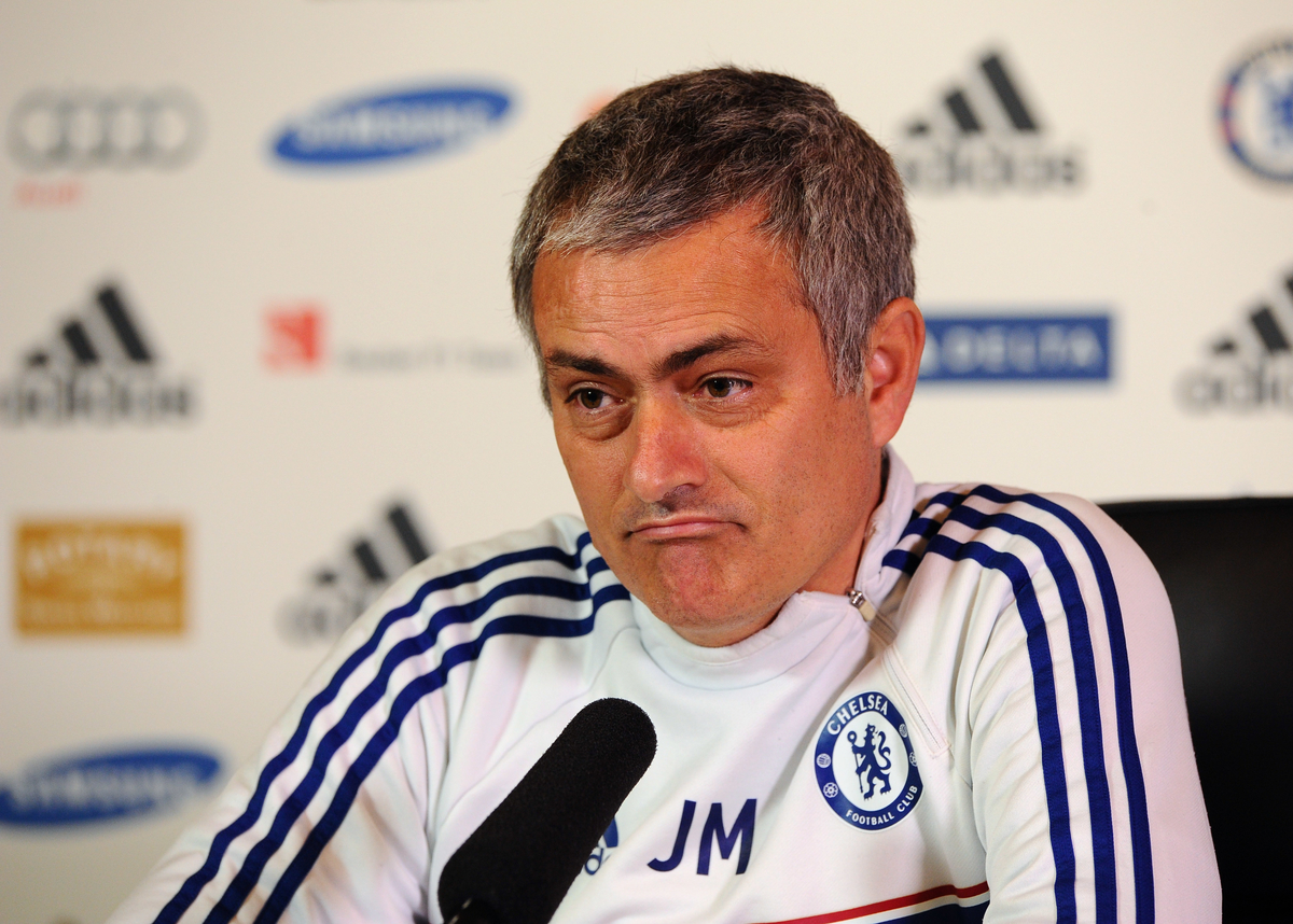 Picture by Seb Daly/Focus Images Ltd +447738 614630 17/01/2014 Jose Mourinho pictured during Chelsea press conference at Chelsea Training Ground, Cobham.