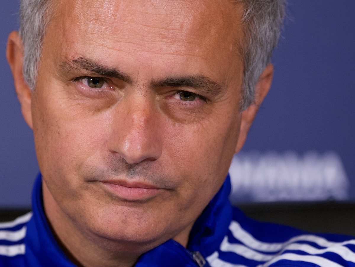 Jose Mourinho, manager of Chelsea  speaks during a press conference at  Chelsea Training Ground, Cobham Picture by Alan Stanford/Focus Images Ltd +44 7915 056117 30/10/2015