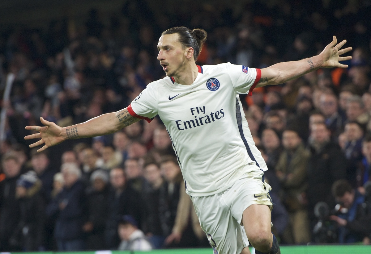 Zlatan Ibrahimovic, autor del gol definitivo (Foto: Focus Images Ltd)