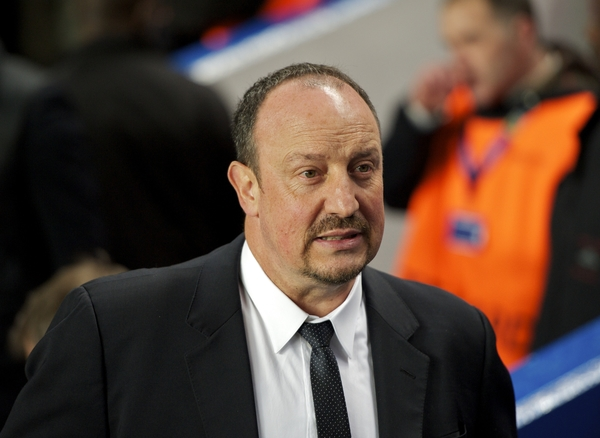 Picture by Alan Stanford/Focus Images Ltd +44 7915 056117.21/03/2013.Rafael Benitez of Chelsea  during the UEFA Europa League match at Stamford Bridge, London.