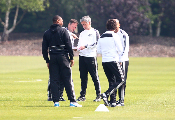 Chelsea Training focus