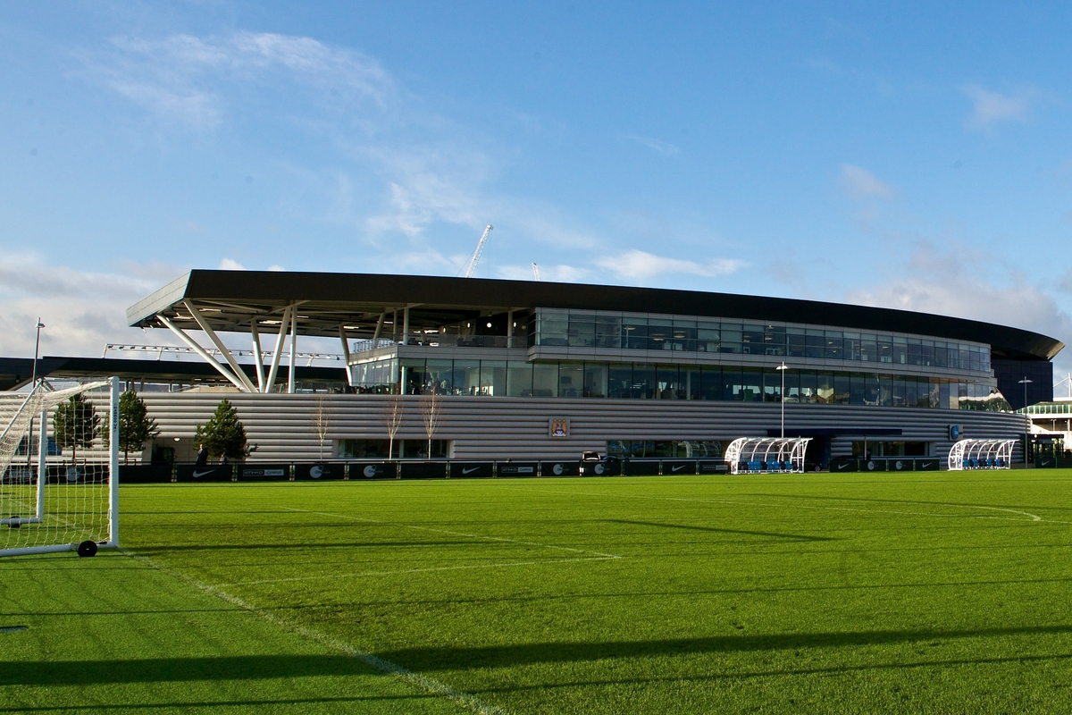 General exterior view of the the City Football academy pictured during the official opening of The City Football Academy at the Etihad Campus, Manchester Picture by Ian Wadkins/Focus Images Ltd +44 7877 568959 08/12/2014