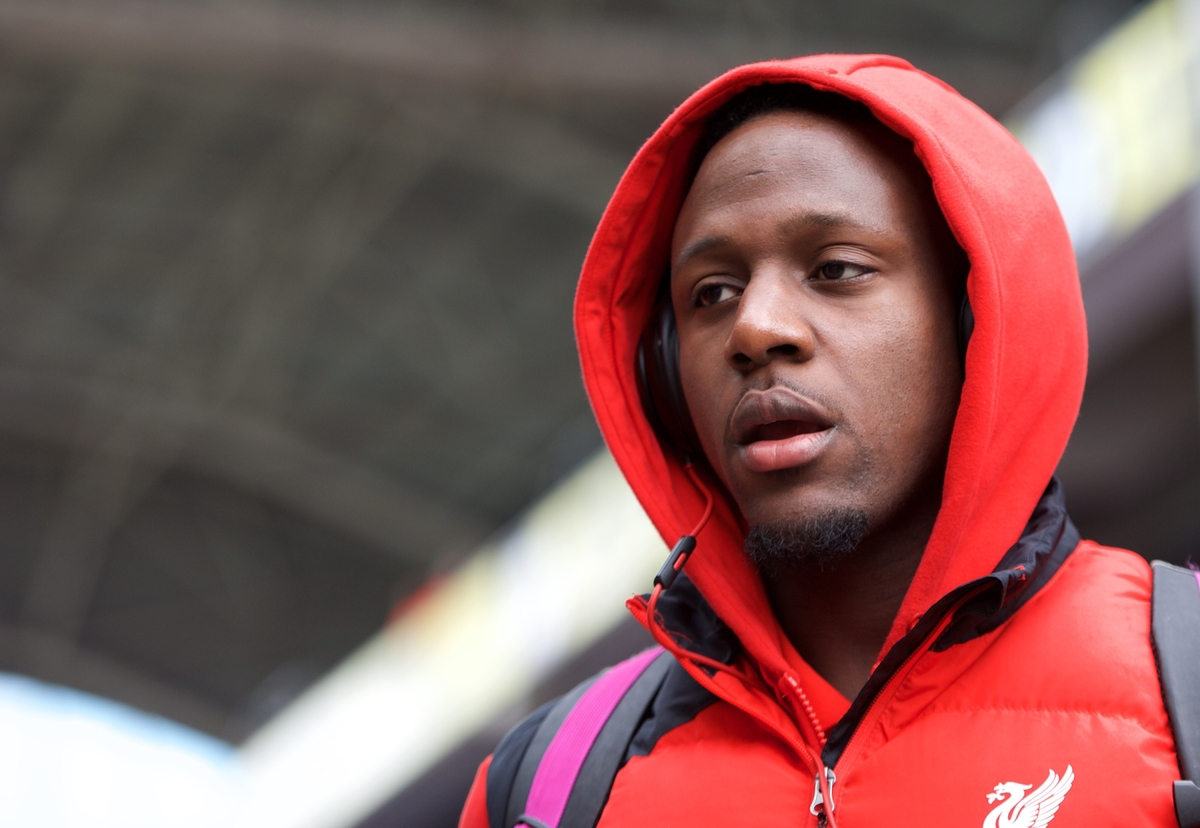 Divock Origi of Liverpool arriving for the Barclays Premier League match at Selhurst Park, London Picture by Alan Stanford/Focus Images Ltd +44 7915 056117 06/03/2016
