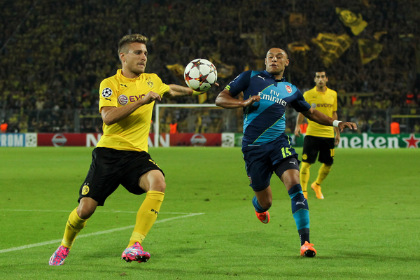 Borussia Dortmund v ArsenalUEFA Champions League