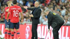 Manager Per-Mathias Hogmo of Norway during the International Friendly match at Wembley Stadium, London Picture by Alan Stanford/Focus Images Ltd +44 7915 056117 03/09/2014