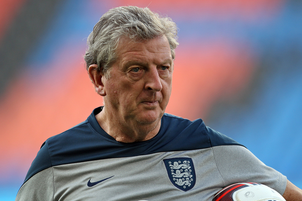 England Manager Roy Hodgson during England training at St. Jakob-Park, Basel Picture by Paul Chesterton/Focus Images Ltd +44 7904 640267 07/09/2014