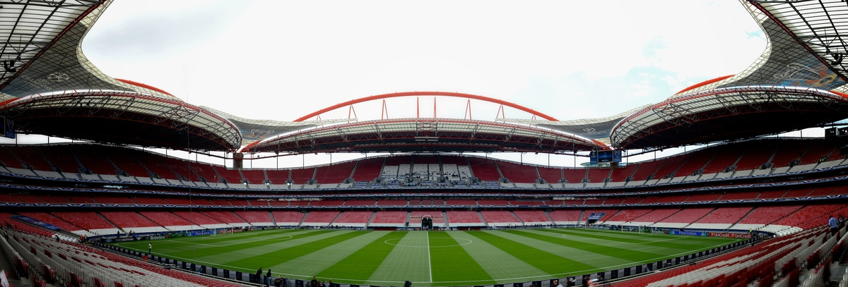 General Views of Estádio da Luz, Lisbon **Note to editors, this image has been stitched together with software** Picture by Ian Wadkins/Focus Images Ltd +44 7877 568959 23/05/2014