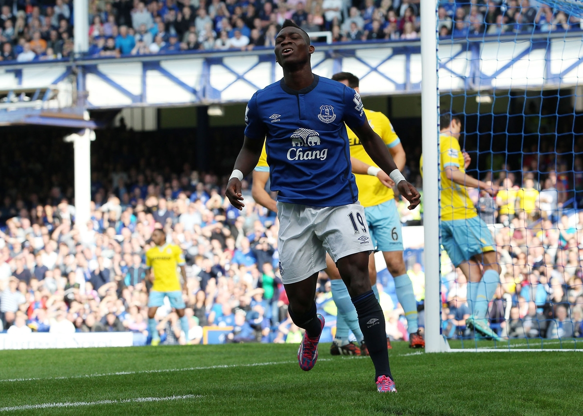 Everton v Crystal Palace Barclays Premier League