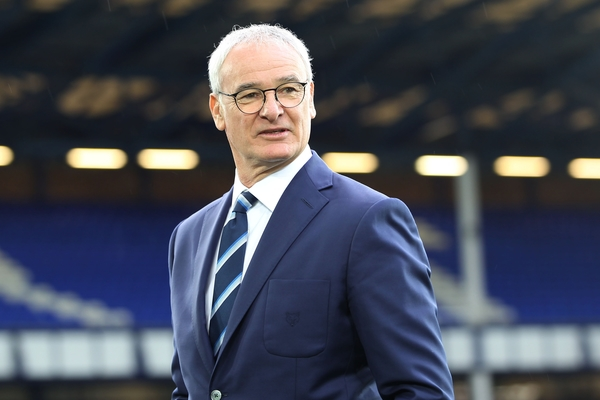 Claudio Ranieri manager of Leicester City on the pitch prior to the Barclays Premier League match against Everton at Goodison Park, Liverpool. Picture by Michael Sedgwick/Focus Images Ltd +44 7900 363072 19/12/2015