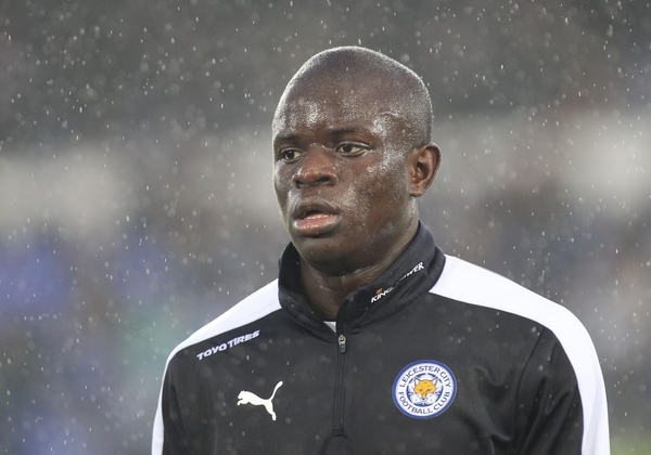 Ngolo Kante of Leicester City prior to the Barclays Premier League match against Everton at Goodison Park, Liverpool. Picture by Michael Sedgwick/Focus Images Ltd +44 7900 363072 19/12/2015