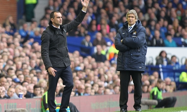 Everton v Manchester City Barclays Premier League