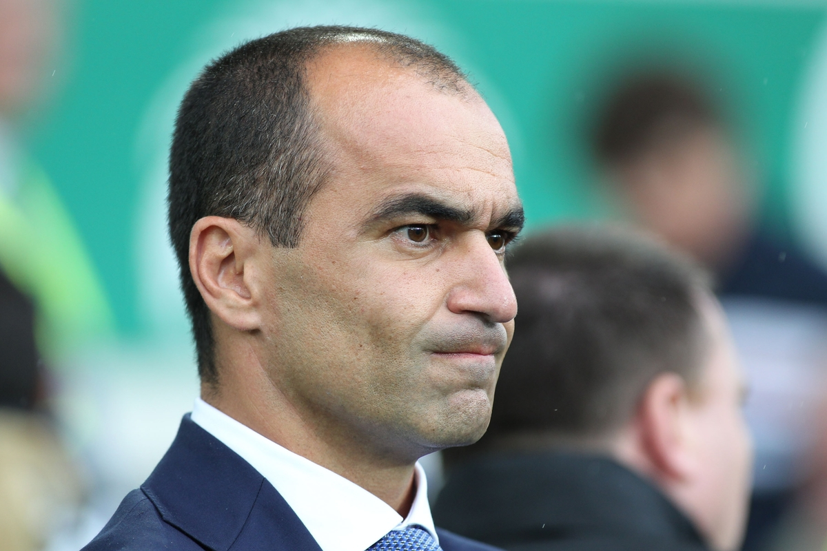 Roberto Martinez manager of Everton on the touchline prior to the Barclays Premier League match against Manchester City at Goodison Park, Liverpool. Picture by Michael Sedgwick/Focus Images Ltd +44 7900 363072 23/08/2015