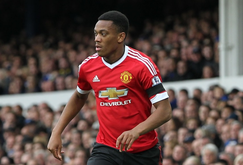 Anthony Martial, delantero del Manchester United (Foto: Focus Images Ltd)