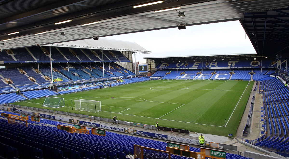 Picture by Michael Sedgwick/Focus Images Ltd +44 7900 363072 04/01/2014 General view of Goodison Park, home of Everton FC, before the FA Cup match against Queens Park Rangers, at Goodison Park, Liverpool.