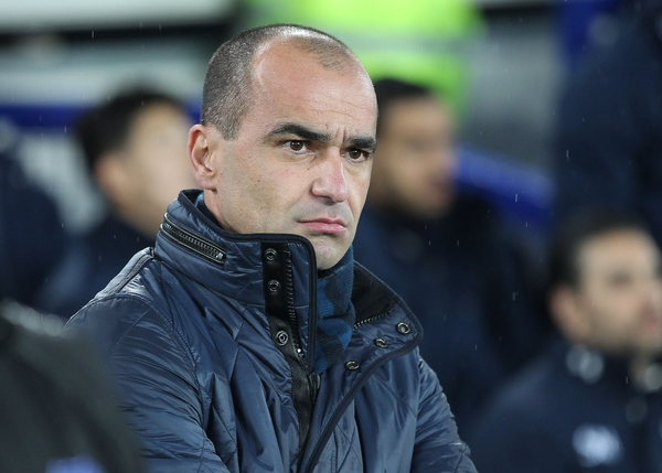 Roberto Martinez manager of Everton on the touchline prior to the Barclays Premier League match against Tottenham Hotspur at Goodison Park, Liverpool. Picture by Michael Sedgwick/Focus Images Ltd +44 7900 363072 03/01/2016