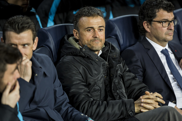FC Barcelona's head coach Luis Enrique during the UEFA Champions League match against Atletico de Madrid at Camp Nou, Barcelona Picture by Luis Tato/Focus Images Ltd (+34) 661 459 33 05/04/2016