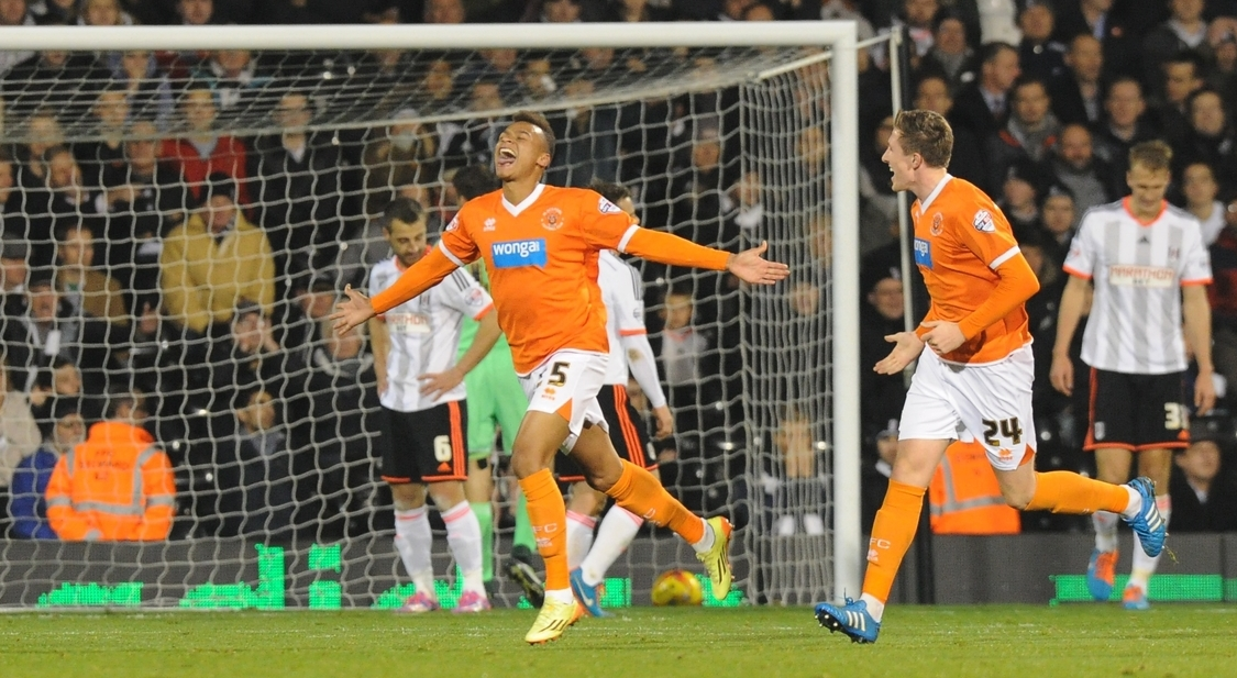 BLACKPOOL Jacob Murphy Focus