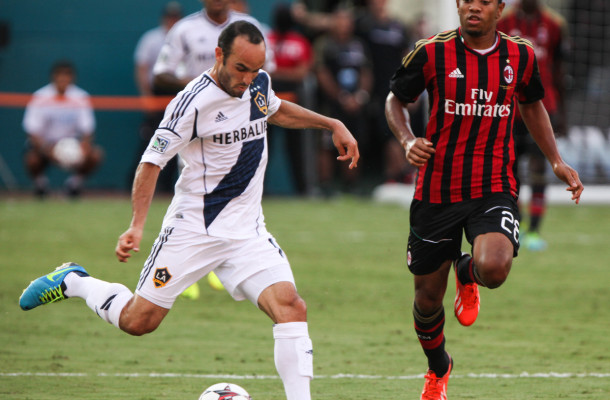 LA Galaxy v AC MilanGuinness International Champions Cup