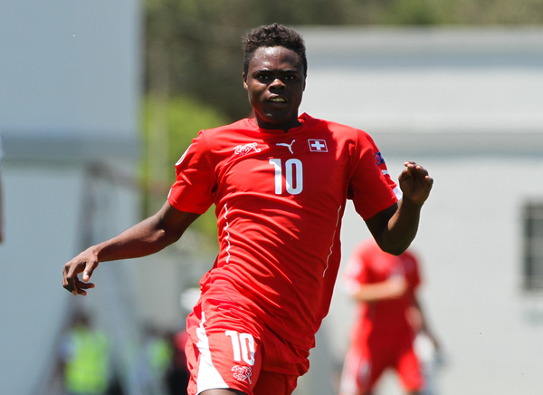 Dimitri Oberlin of Switzerland during the 2014 UEFA European Under-17 match at Gozo Stadium, Xewkija Picture by Tom Smith/Focus Images Ltd 07545141164 09/05/2014