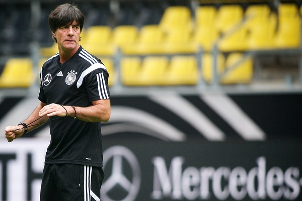Germany manager Joachim Löw pictured during Germany training at Signal Iduna Park, Dortmund Picture by Ian Wadkins/Focus Images Ltd +44 7877 568959 06/09/2014