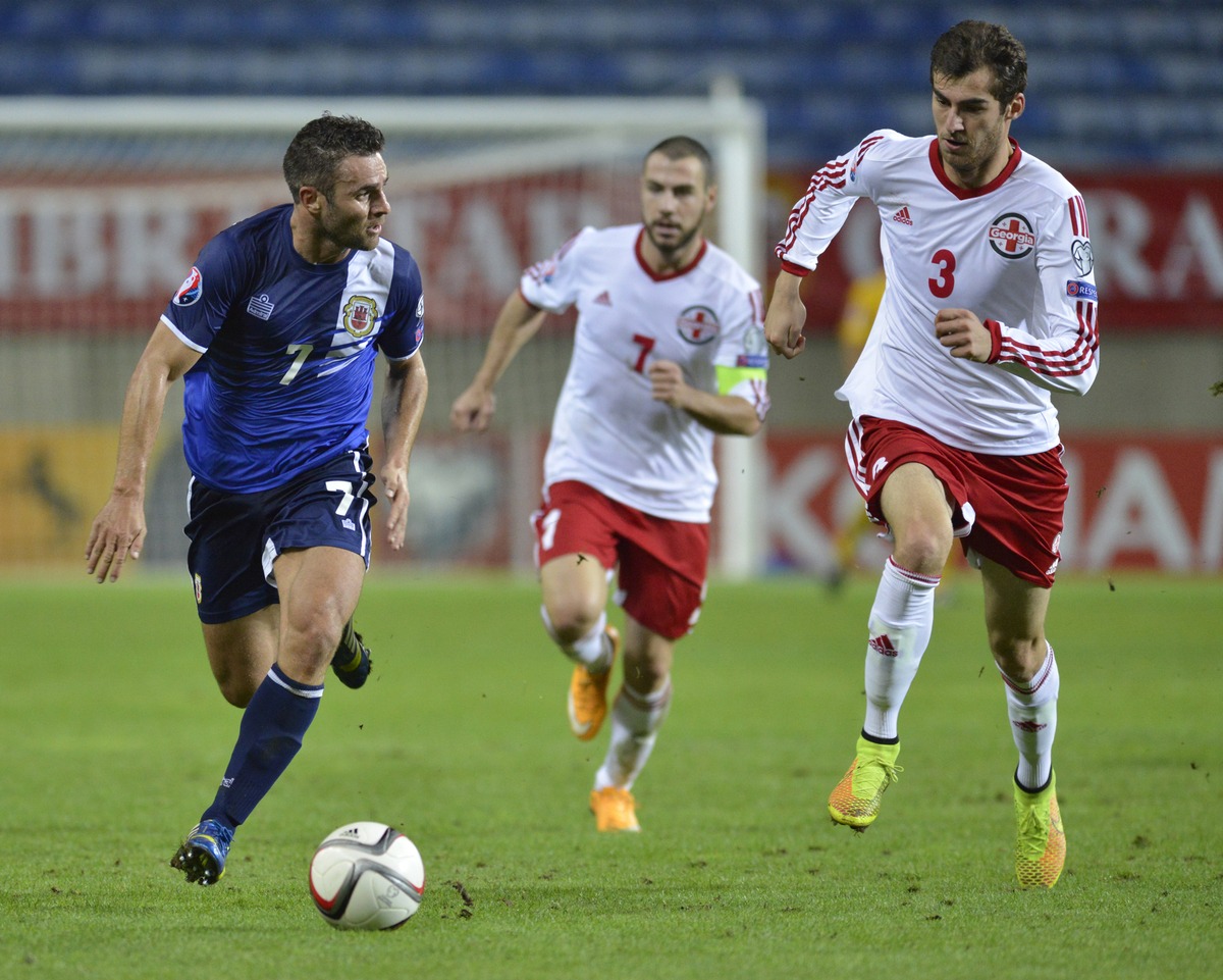 Gibraltar v GeorgiaUEFA Euro 2016 Qualifying