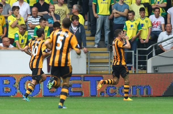Hull City v Norwich CityBarclays Premier League