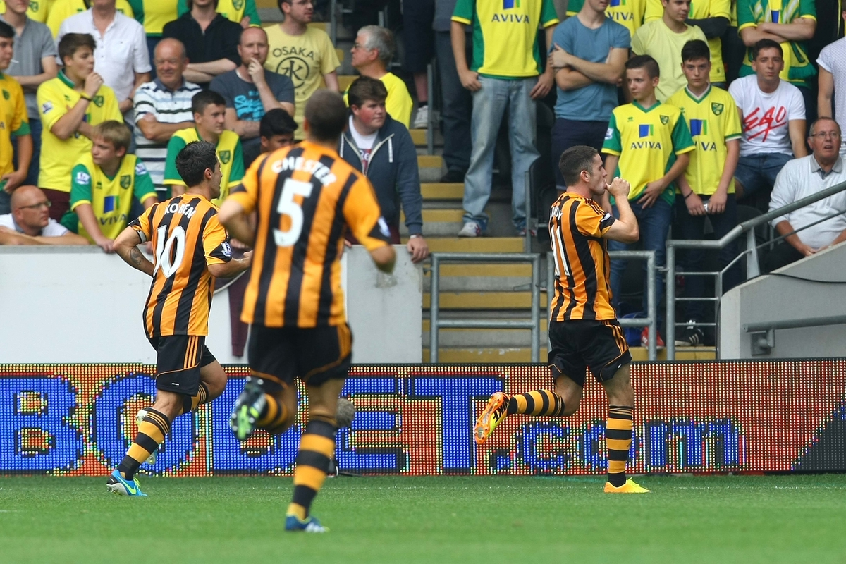 Hull City v Norwich City Barclays Premier League