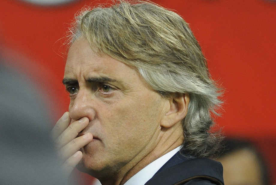 Roberto Mancini, head coach of Inter Milan during the Serie A match at San Siro, Milan Picture by Stefano Gnech/Focus Images Ltd +39 333 1641678 18/10/2015