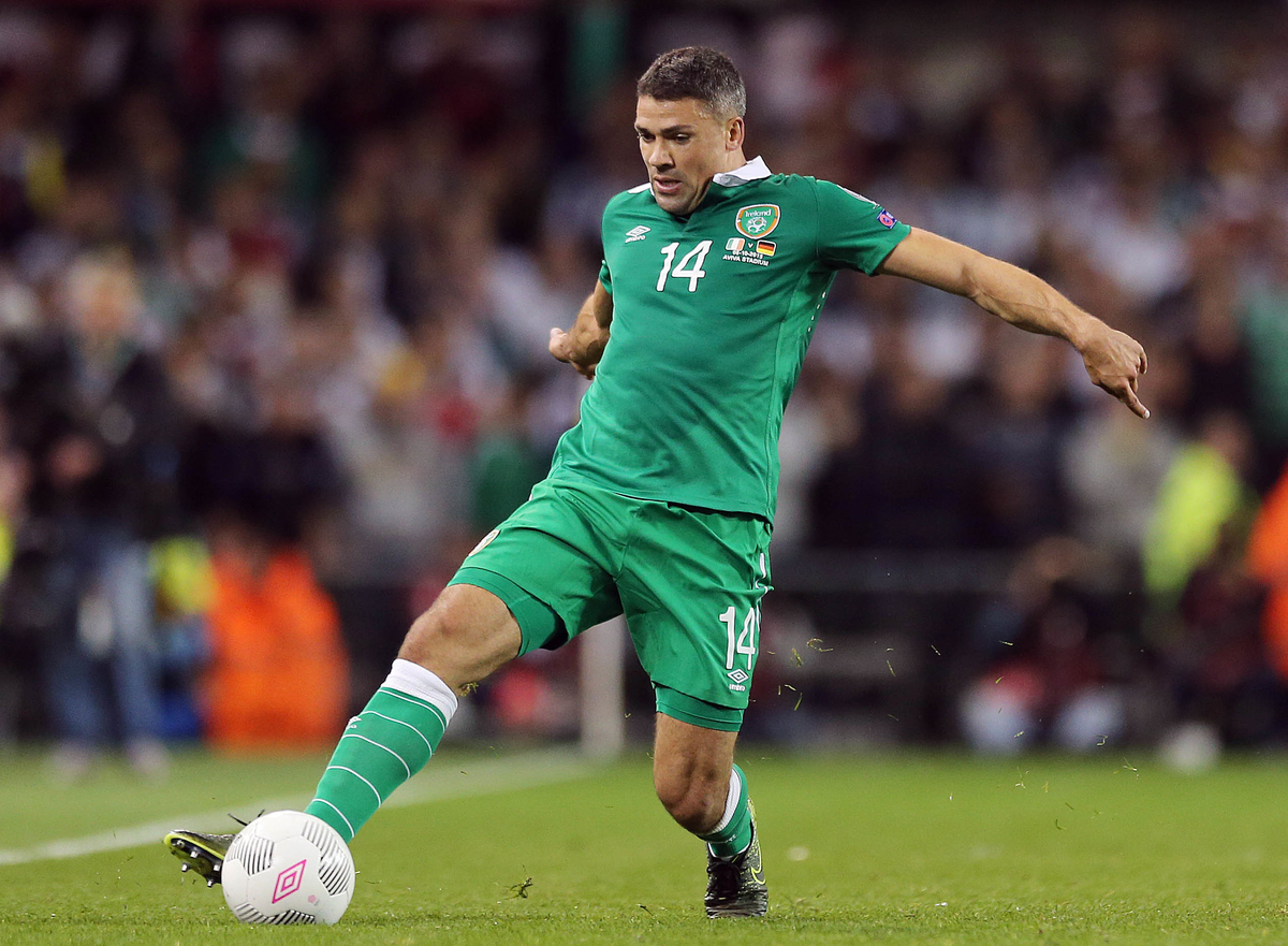 Jon Walters of Republic of Ireland during the UEFA Euro 2016 Qualifying match at the Aviva Stadium, Dublin Picture by Lorraine O'Sullivan/Focus Images Ltd +353 872341584 08/10/2015