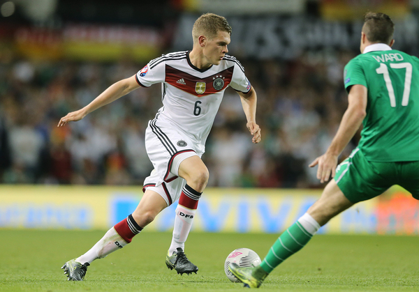 Matthias Ginter of Germany during the UEFA Euro 2016 Qualifying match at the Aviva Stadium, Dublin Picture by Lorraine O'Sullivan/Focus Images Ltd +353 872341584 08/10/2015