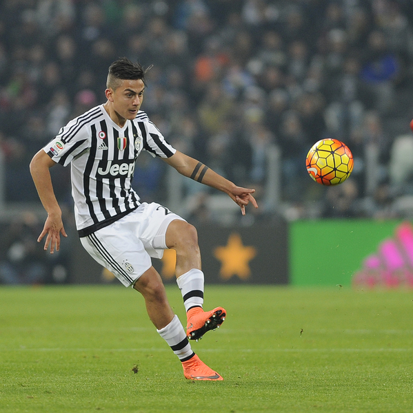 Paulo Dybala of Juventus during the Serie A match at Juventus Stadium, Turin Picture by Stefano Gnech/Focus Images Ltd +39 333 1641678 13/02/2016