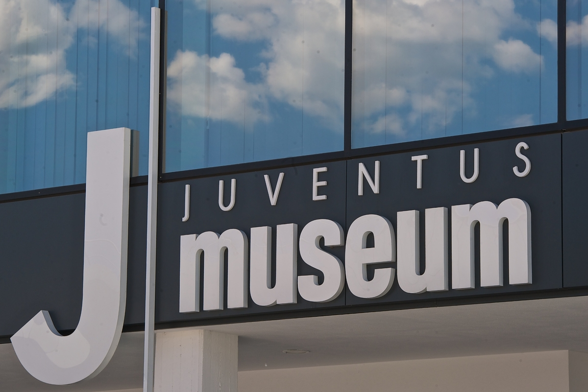 A general view of Juventus Stadium showing entrance to the Juventus museum, Turin Picture by Ian Wadkins/Focus Images Ltd +44 7877 568959 13/05/2014