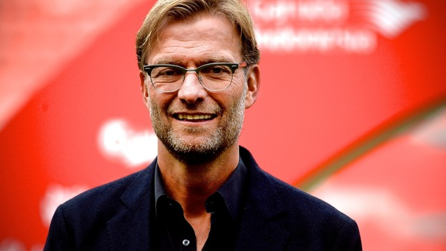 New Liverpool manager Jurgen Klopp during a press conference at Anfield stadium, Liverpool Picture by Ian Wadkins/Focus Images Ltd +44 7877 568959 09/10/2015