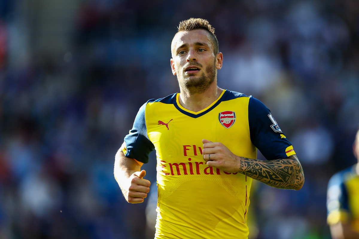 Debuchy Arsenal Focus