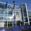 Leicester City King Power Stadium pictured in the city with clear blue skies before Premier League match between Tottenham Hotspur and Chelsea. Picture by Anthony Stanley/Focus Images Ltd 07833 396363 02/05/2016