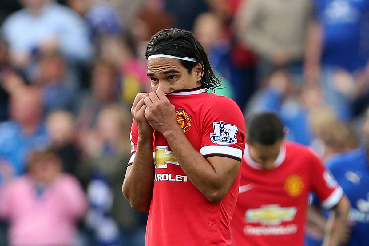Radamel Falcao Manchester Untied Focus