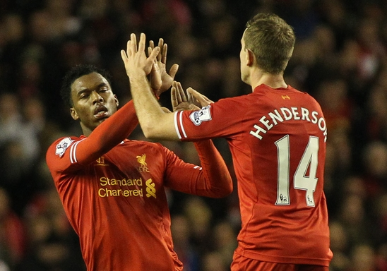 Henderson Liverpool Sturridge Focus