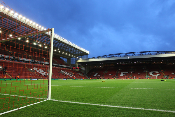 Picture by Michael Sedgwick/Focus Images Ltd +44 7900 363072 18/01/2014 General view of Anfield, home of Liverpool, before the Barclays Premier League match against Aston Villa, Liverpool.