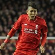 Roberto Firmino of Liverpool in action against Bournemouth during the Capital One Cup match at Anfield, Liverpool. Picture by Michael Sedgwick/Focus Images Ltd +44 7900 363072 28/10/2015
