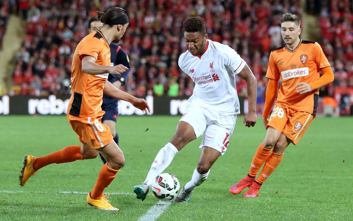 Liverpool Joe Gomez Focus