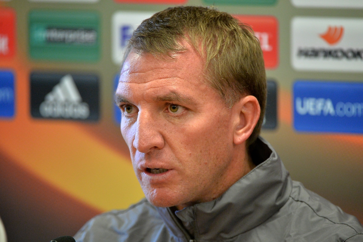 Liverpool manager Brendan Rodgers during a press conference at Melwood, Liverpool Picture by Ian Wadkins/Focus Images Ltd +44 7877 568959 30/09/2015