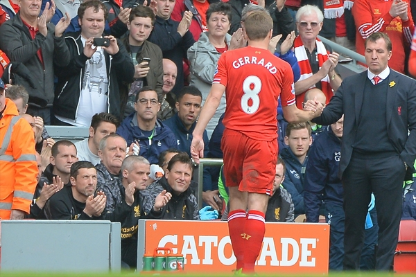 Gerrard Rodgers Liverpool Focus
