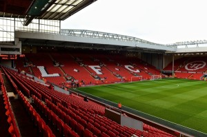 Picture by Ian Wadkins/Focus Images Ltd +44 7877 568959 07/12/2013 General view of the stadium ahead of the Barclays Premier League match at Anfield, Liverpool.