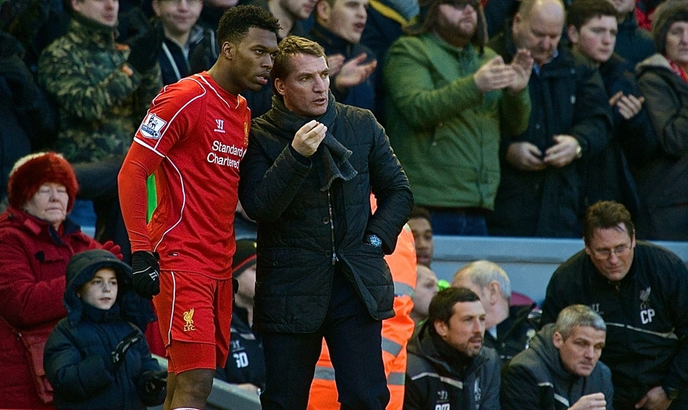 Rodgers Sturridge Liverpool Focus