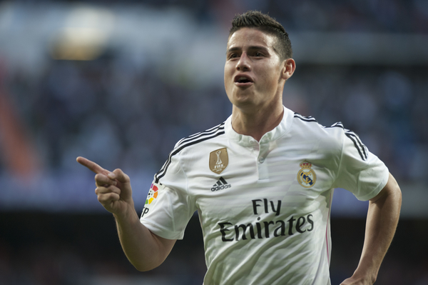 James Rodriguez Real Madrid - Focus
